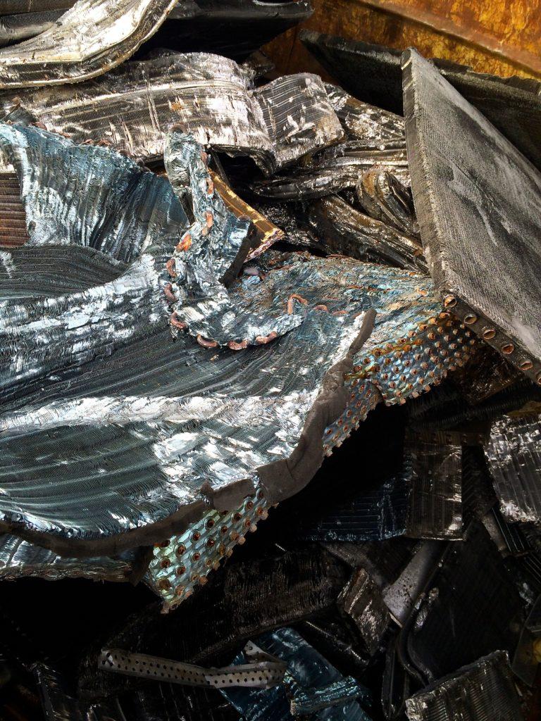 Aluminium mêlé (casseroles, etc.)