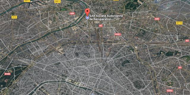 Situer SAR 93 à Paris